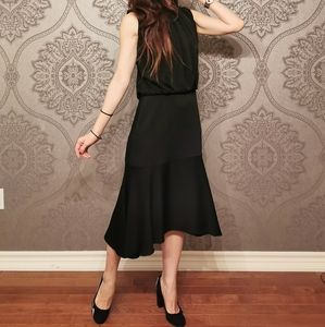 Mulberry made in Italy black dress